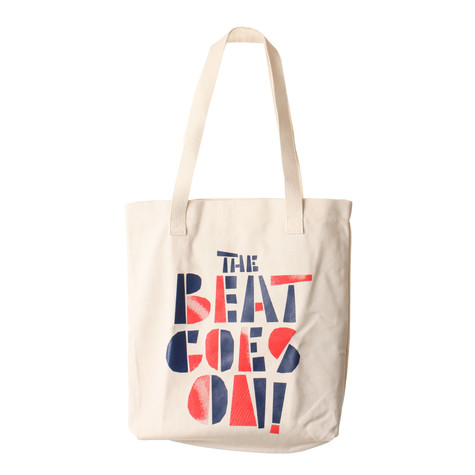 101 Apparel - The Beat Goes On Tote Bag