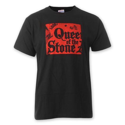 Queens Of The Stone Age - Red Panel T-Shirt