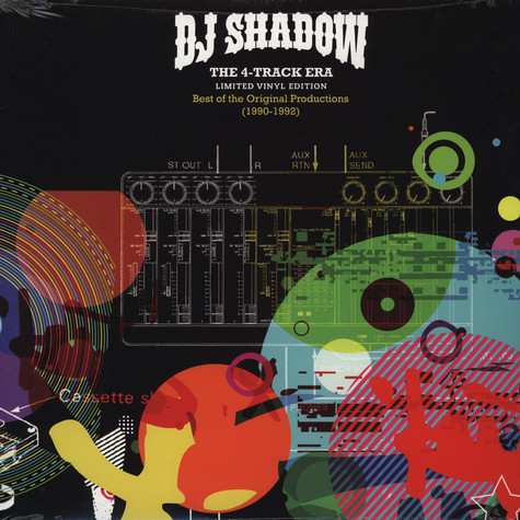 DJ Shadow - The 4-Track Era: Best Of The Original Productions 1990-92