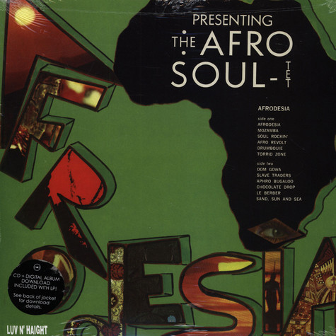 Afrodesia - The Afro Soul-Tet