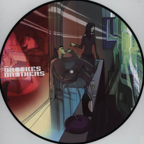 Brookes Brothers, The - Last Night / War Cry Picturedisc