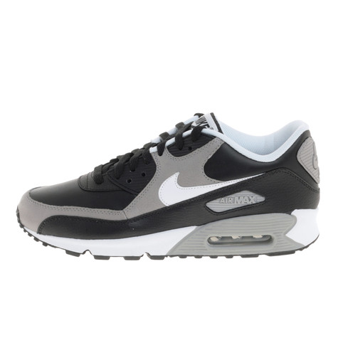 765e8f88803f Nike - Air Max 90 Premium (Black   White Medium Grey)