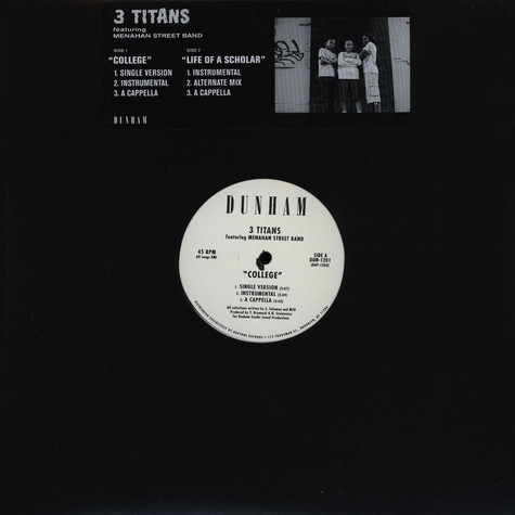 3 Titans & Menahan Street Band - College