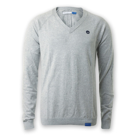 adidas - V-Neck PRMY Knit Sweater