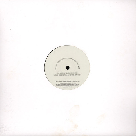 Knife, The With Mt. Sims And PlanningToRock - Seeds Remixes