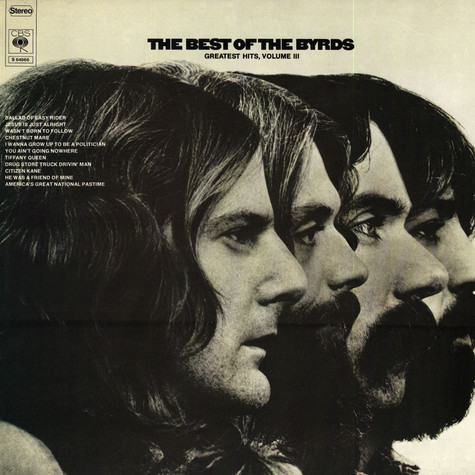 Byrds, The - The Best Of The Byrds - Greatest Hits, Volume III