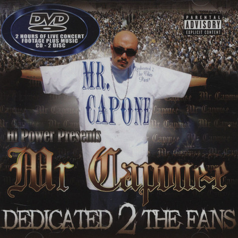 Mr. Capone-e - Dedicated 2 The Fans