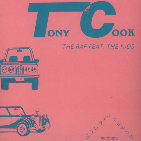Tony Cook - The Rap b/w What's On Your Mind?