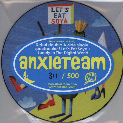Anxieteam - Let's Eat Soya