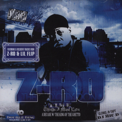 Z-Ro - Time-things I Must Earn