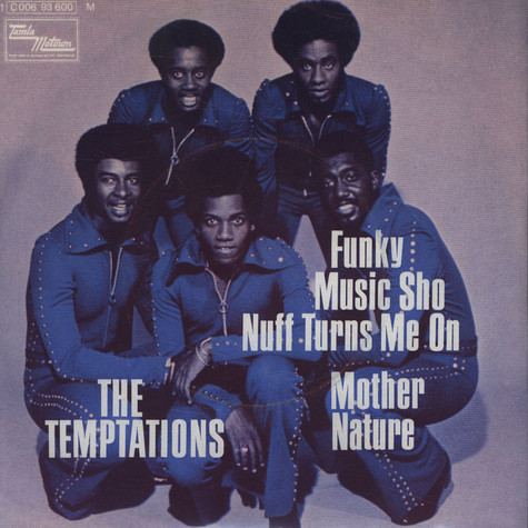 Temptations - Funky Music Sho Nuff Turns Me On