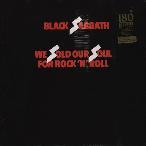 Black Sabbath - We Sold Our Souls For Rock N Roll