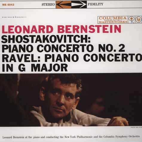 Leonard Shostakovitch / Ravel / Bernstein - Pianot Concerto 2 / Piano Concerto In G Major