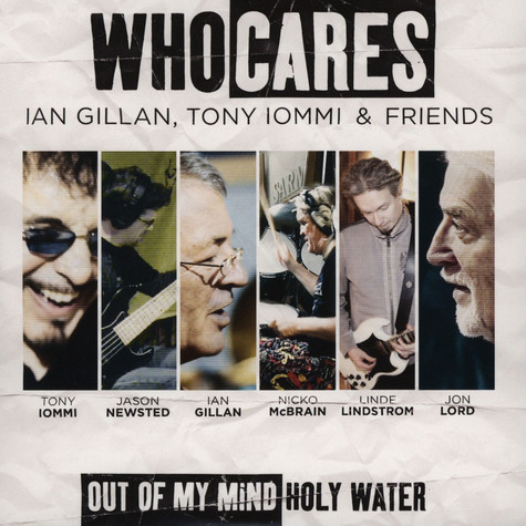 WhoCares - Out Of My Mind / Holy Water