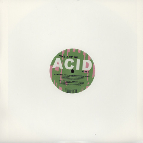 Adonis / Joeski / Phuture - Art Of Acid Part 1