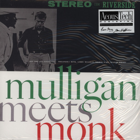 Gerry Mulligan meets Thelonious Monk - Gerry Mulligan meets Thelonious Monk