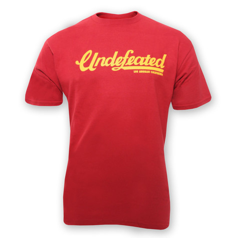 Undefeated - Full Script T-Shirt