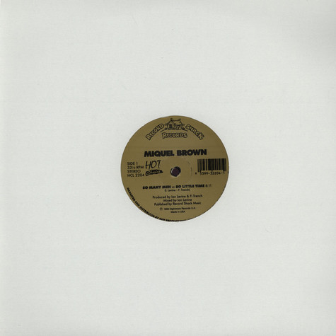 Miquel Brown / Evelyn Thomas - So Many Men, So Little Time / High Energy
