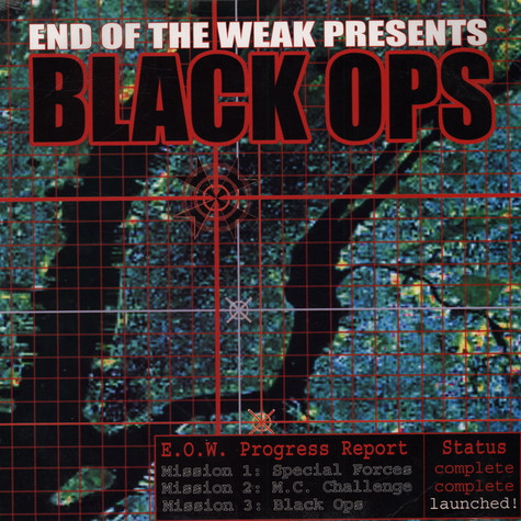 V.A. - End Of The Weak presents Black Ops