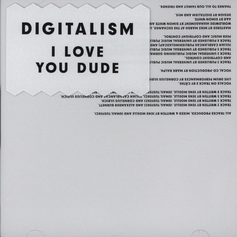Digitalism - I Love You, Dude