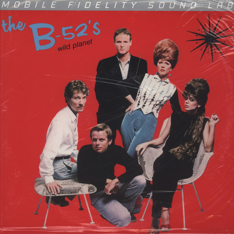B-52's, The - Wild Planet Numbered Limited Edition