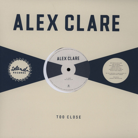 Alex Clare - Too Close Nadastrom Remix
