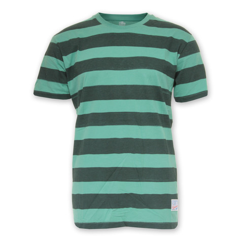 Cleptomanicx - Brush Stripe T-Shirt