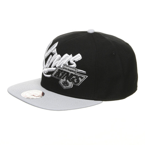 Mitchell & Ness - Los Angeles Kings NHL Vice Script Snapback Cap