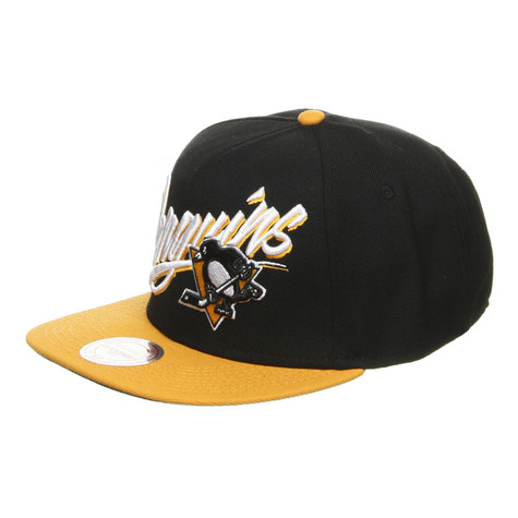 Mitchell & Ness - Pittsburgh Penguins NHL Vice Script Snapback Cap