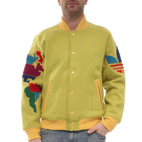 adidas Originals by Originals x Jeremy Scott - Globe Varsity Jacket