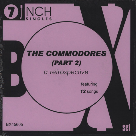 Commodores - Box Set Part 2