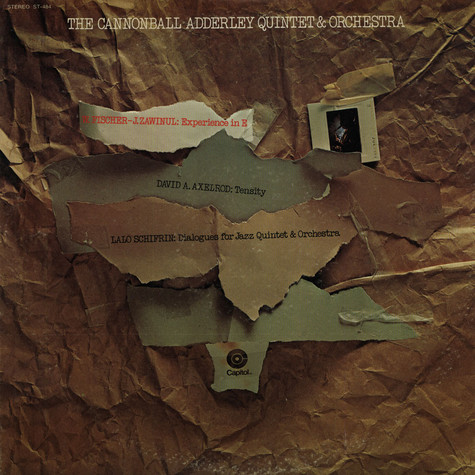 Cannonball Adderley Quintet & Orchestra, The - The Cannonball Adderley Quintet And Orchestra