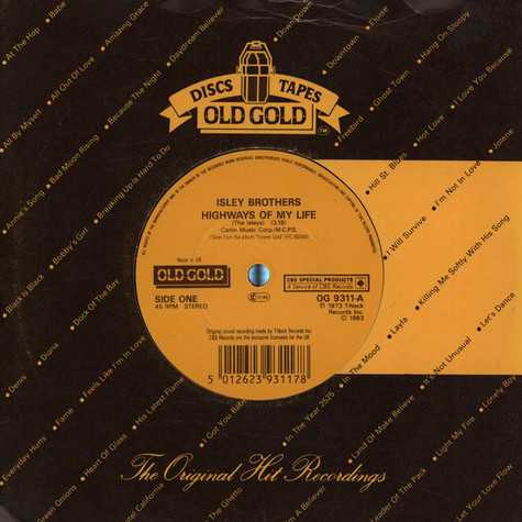 Isley Brothers, The - Highways Of My Life
