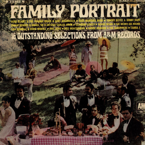 Various - Family Portrait - 16 Outstanding Selections From A&M Records