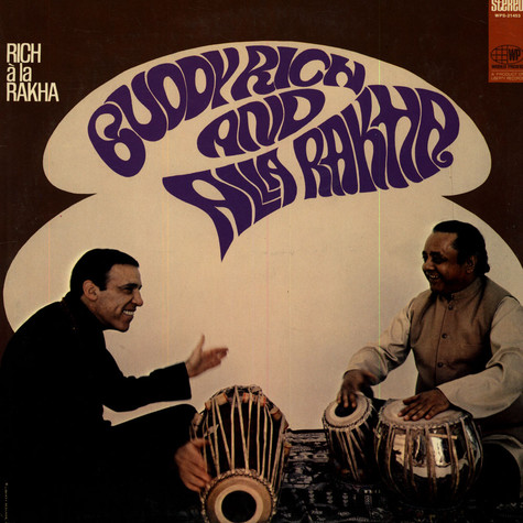 Buddy Rich And Alla Rakha - Rich À La Rakha