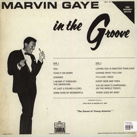 Marvin Gaye - In the groove