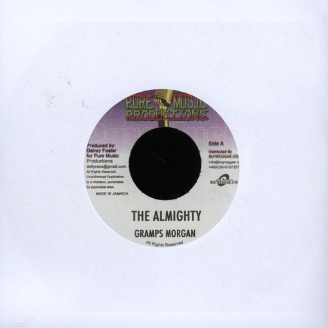 Sizzla / Gramps Morgan - Hotta Fire / The Almighty