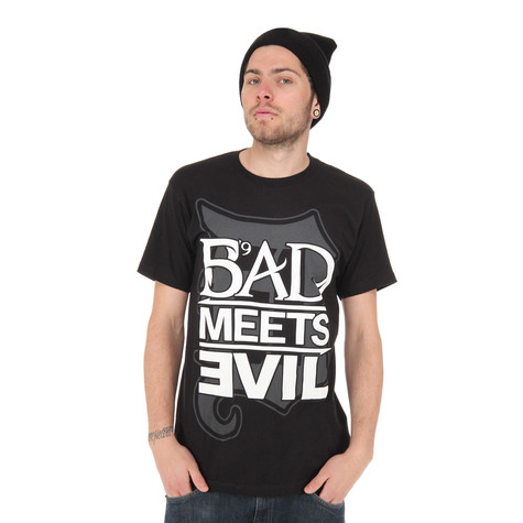 Bad Meets Evil (Royce Da 5'9 & Eminem) - Square Logo T-Shirt