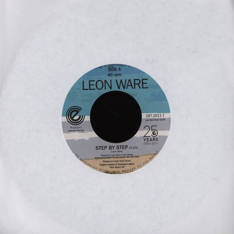 Leon Ware - Step By Step / On The Beach (AtJazz Mix)