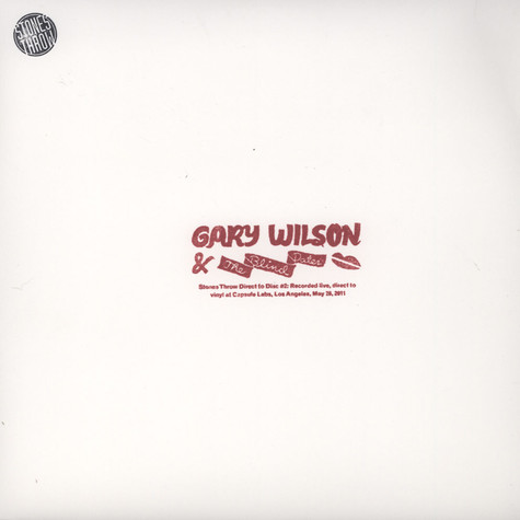 Gary Wilson - Direct To Disc