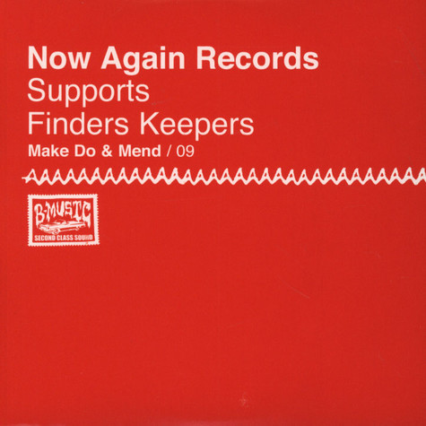 Now Again Records - Make Do & Mend Volume 9