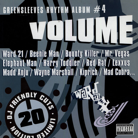 Greensleeves Rhythm Album #04 - Volume