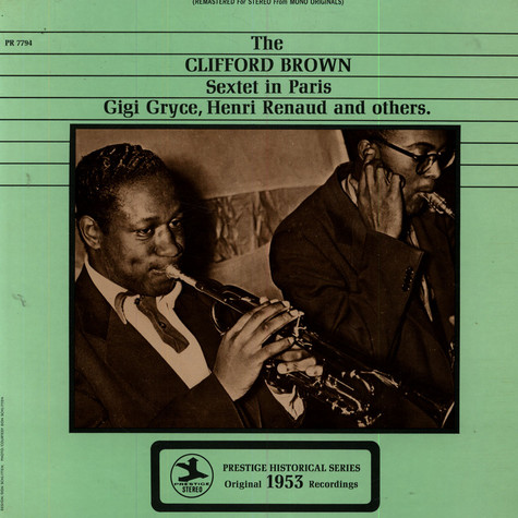 Clifford Brown Sextet, The - The Clifford Brown Sextet In Paris