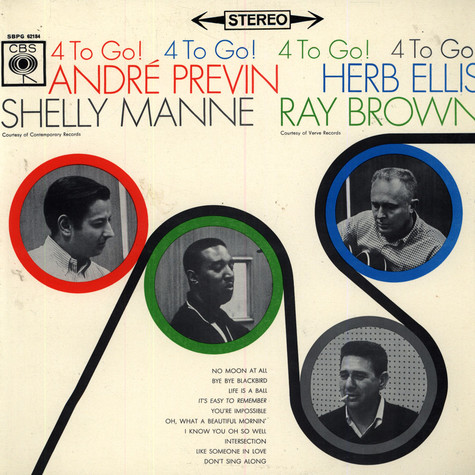 André Previn / Herb Ellis / Shelly Manne / Ray Brown - 4 To Go!