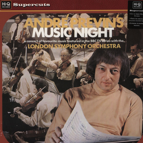 Andre Previn / London Symphony Orchestra - Andre Previn's Music Night