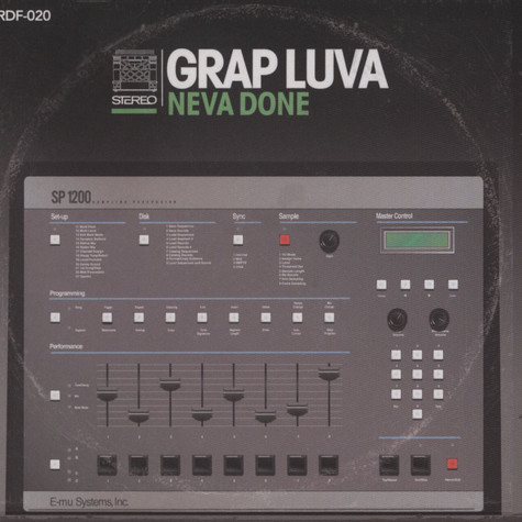 Grap Luva & Damu The Fudgemunk - Neva Done EP