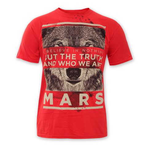 Thirty Seconds To Mars - Red Wolf T-Shirt
