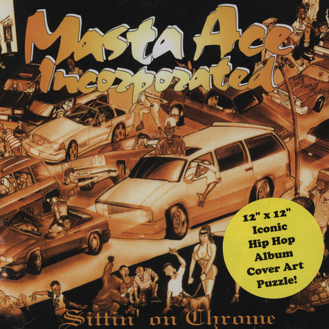 Masta Ace - Sittin' On Chrome Puzzle Edition