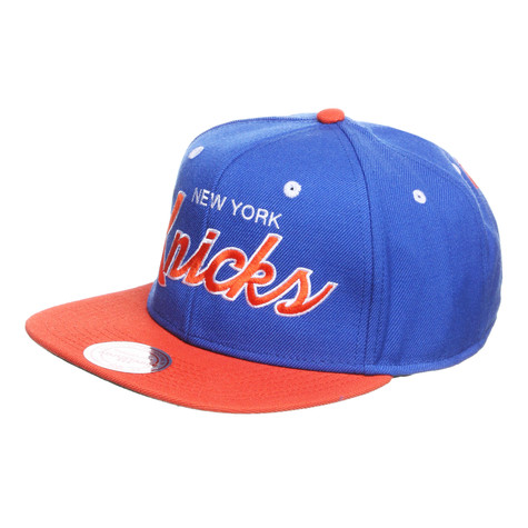 Mitchell & Ness - New York Knicks NBA 2T Script Snapback Cap