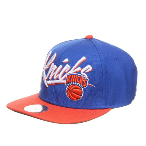Mitchell & Ness - New York Knicks NBA Vice Script Snapback Cap